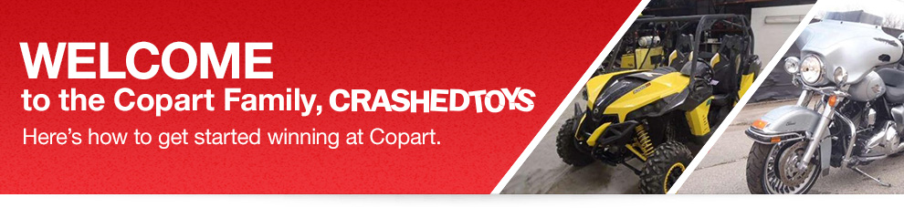 CrashedToys Now Part of Copart