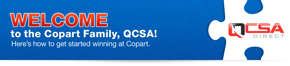 Welcome to the Copart Family, QCSA!