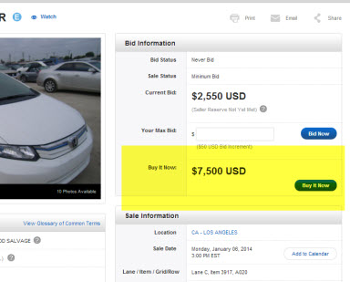 Salvage Car Auctions Buy It Now Copart Usa