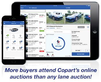 Salvage Auction Copart Car Dealer Services