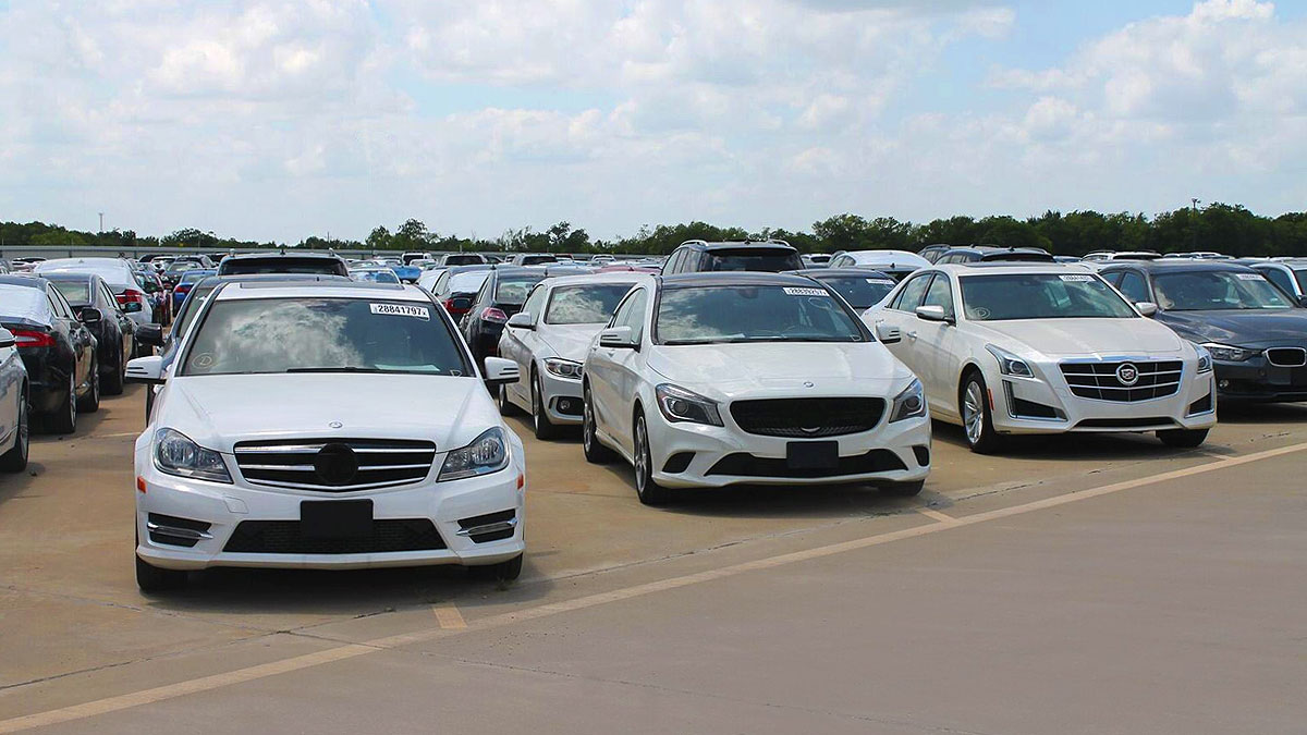 Auto Auction - Copart DRIVE Dallas TEXAS - Salvage Cars