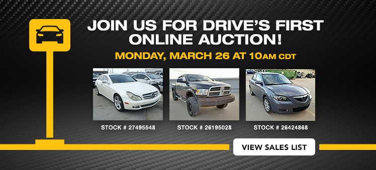 Auto Auction Copart Ft Worth TEXAS Salvage Cars & Wrecked Vehicles
