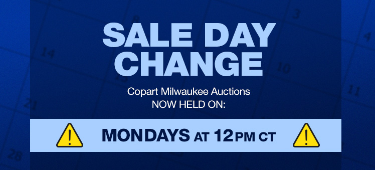 Auto Auction - Copart Milwaukee WISCONSIN - Salvage Cars